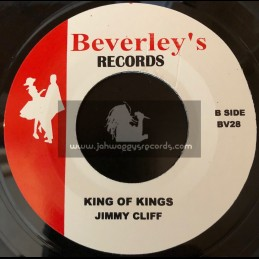 """Beverleys Records-7""""-King Of Kings / Jimmy Cliff + Honour Your Mother & Father / Desmond Decker"""