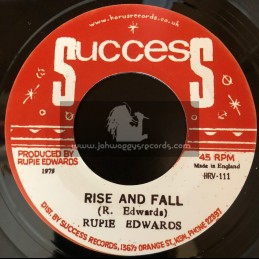 """Success-7""""-Rise And Fall / Rupie Edwards"""