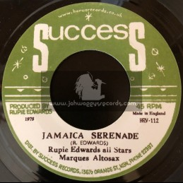 "Success-7""-Jamaica Serenade / Rupie Edwards All Stars"