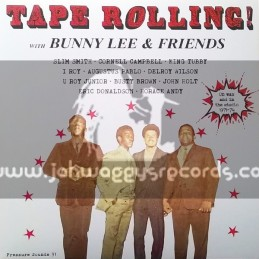 Pressure Sounds-CD-Tape Rollin With Bunny Lee & Friends: On Wax And In The Studio 1971-74