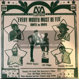 Pressure Sounds-Double-CD-'Every Mouth Must Be Fed' 1973 - 1976 / Various