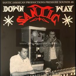 Santic-Pressure Sounds-Double-Lp-Down Santic Way / Various