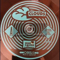 "Wise Sound-7""-Clouds / Ranking Delgado"