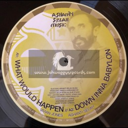 "Ashanti Selah Music-10""-What Would Happen / Vivian Jones"