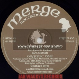 "MERGE RECORDS-10""-NATURAL ROOTS + GOING TO AFRICA / EARL SIXTEEN"