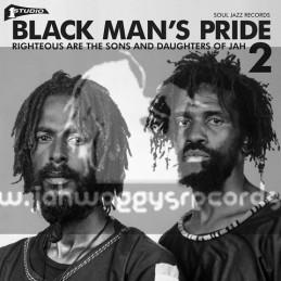 Soul Jazz-Double-Lp-Studio One Black Man's Pride Volume 2 / Various Artist