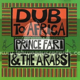 Pressure Sounds-CD-Dub To Africa / Prince Far I & The Arabs