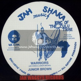 "JAH SHAKA MUSIC-12""-WARRIORS / JUNIOR BROWN"