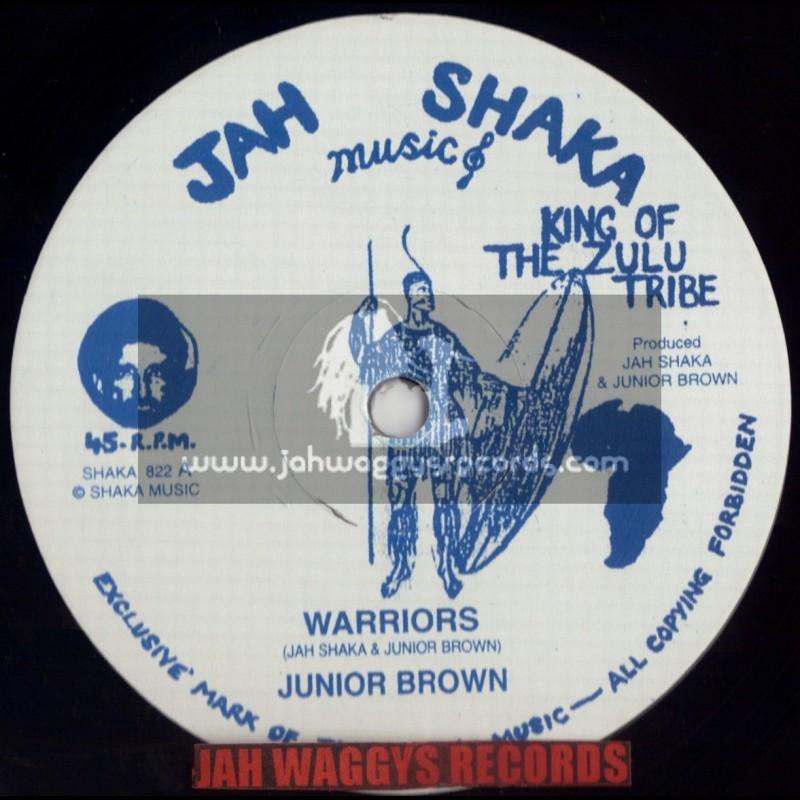 """JAH SHAKA MUSIC-12""""-WARRIORS / JUNIOR BROWN"""