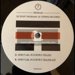 """Steppas Records-10""""-The Eight trigrams Of Steppas Records 7 - Fireland / Spiritual Rockers"""