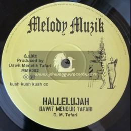 "Melody Muzik-10""-Hallelujah/Dawit Menelik Taffari+Everyday Reality/Reality Soldiers"