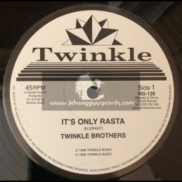 """TWINKLE BROTHERS-12""""-ITS ONLY RASTA + THE ELEMENTS / THE TWINKLE BROTHERS"""