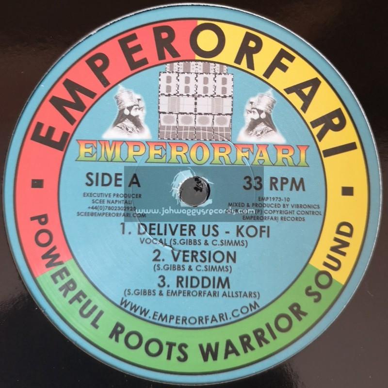 """Emperorfari-12""""-Deliver Us / Vibronics Feat. Kofi"""