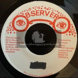 "Observer-7""-Should I / Frankie Paul"