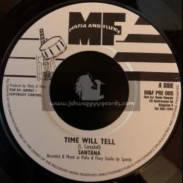 """Mafia And Fluxy-7""""-Time Will Tell / Santana"""