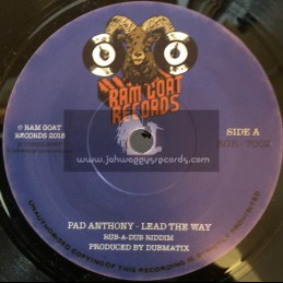 """Ram Goat Records-7""""-Lead The Way / Pad Anthony + Heart And Soul / Cheshire Cat"""