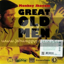 "Iron Sound Records-7""-Great Old Men / Monkey Jhayam - Alien Dread"