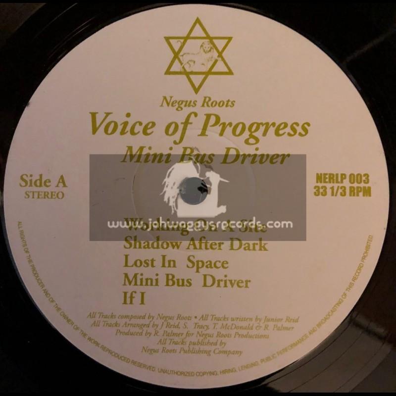 Negus Roots-LP-Mini Van Driver / Voice Of Progress(Junior Reid)