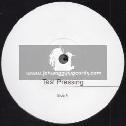 "Test Press-Akom Records-7""-Word Sound Power / Lutan Fyah"