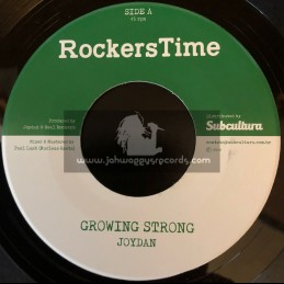 "Rockers Time-7""-Growing Strong / Joydan + Dub Strong / Nucleus Roots"