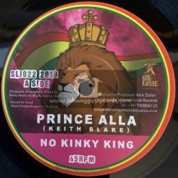 "Sir Logie International Records-7""-No Kinky King / Prince Alla + No Kinky Dub / Keety Roots"