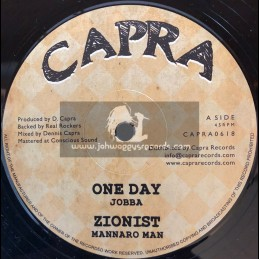 "Capra-12""-One Day / Jobba + Zionist / Mannaro Man"