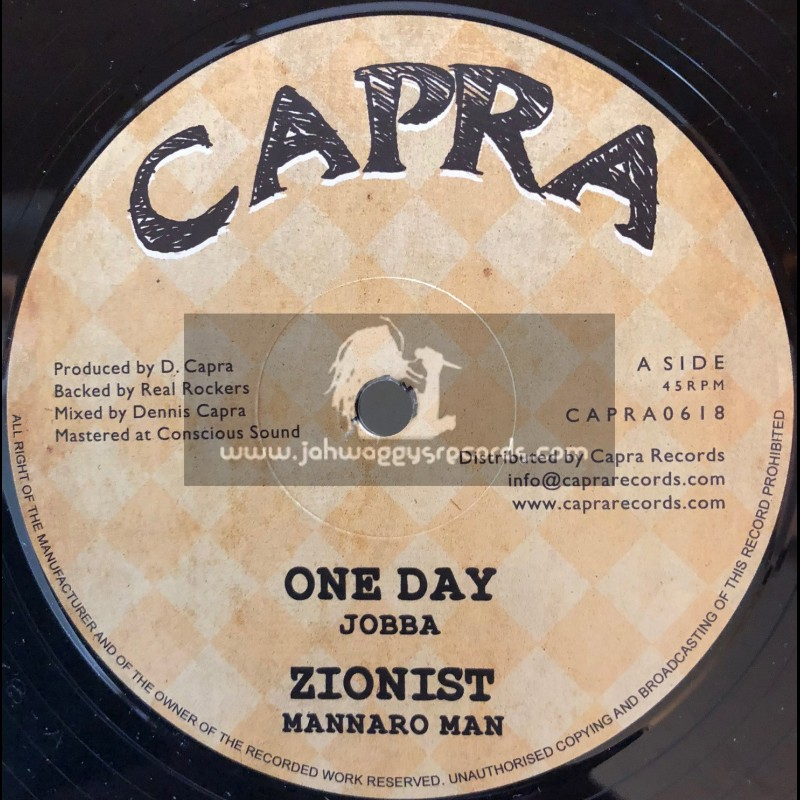 "Capra-12""-One Day / Jobba + Zionist / Mannaro Man"