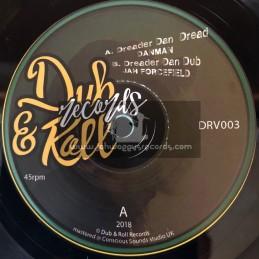 Dub And Roll Records-7-Dreader Dan Dread / Danman + Version / Jah Forcefield
