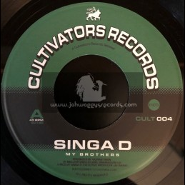 "Cultivators Records-7""-My Brothers / Singa D"