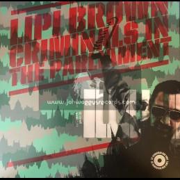 Budapest Vinyl -Lp-Criminals In The Parlament / Lipi Brown