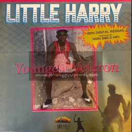 Top Smile Records-Lp-Youngest Veteron / Little Harry
