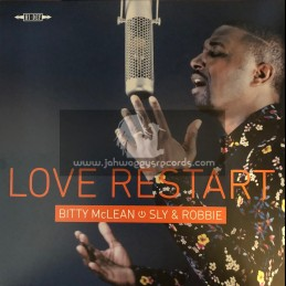 """Silent River-Taxi-12""""-Love Restart / Bitty McLean - Sly And Robbie"""