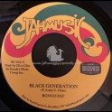 "Jahmusic-7""-Black Generation / Bongo Pat"
