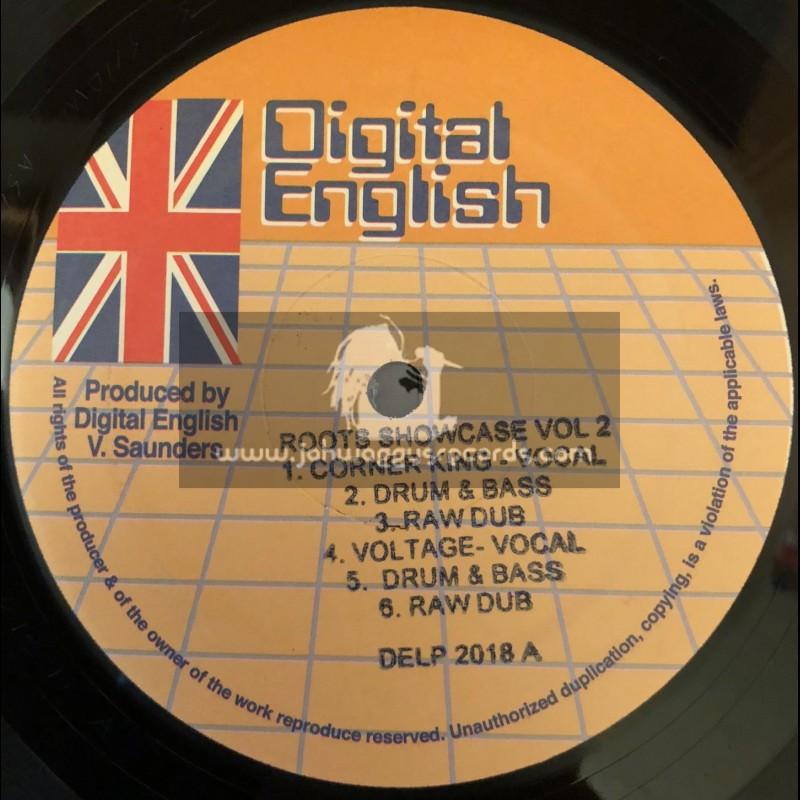 "Digital English-12""-Roots Showcase Vol 2 / Devon Clarke Meets Chazbo"