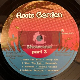 """Roots Garden Showcase Part 3-12""""-Danny Red,Johnny Clarke,Mike Brooks,Shaka Black & Dougal Caston-Produced  By Nick Manasseh"""
