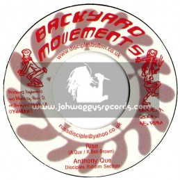 """BACKYARD MOVEMENTS-7""""-RISE / ANTHONY QUE(2006)"""