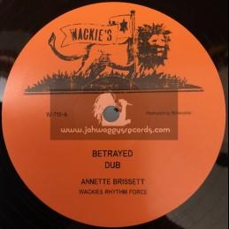 "Wackies-12""-Betrayed / Annette Brissett + What A Feeling Dub / Wackies Rhythm Force"