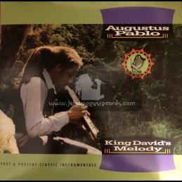 Greensleeves Records -Lp-King David's Melody / Augustus Pablo
