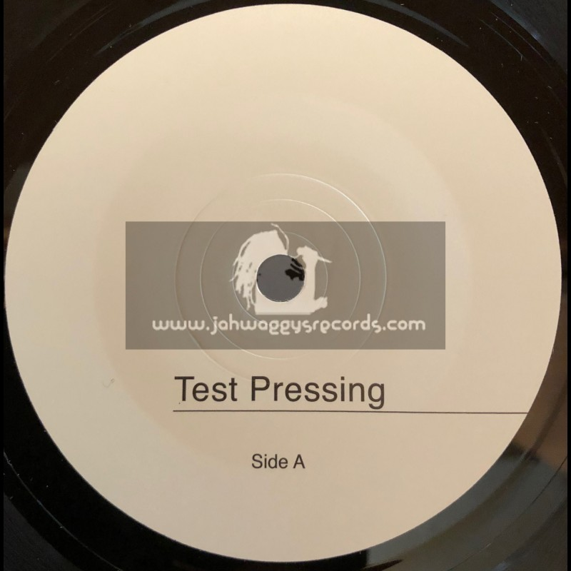 """Partial Records-Test Press-7""""-Burial / Mikey Mystic"""