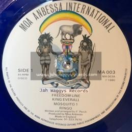 "Moa Anbessa International-12""-Freedom Line / King Everall + Mosquito / Ringo"