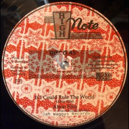 """High Note-12""""-If I Could Rule The World / Alton Ellis + Lava / Soul Syndicate"""