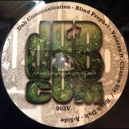 "Dub Communication-7""-Veteran / Blind Prophet Feat. Clinton Sly"