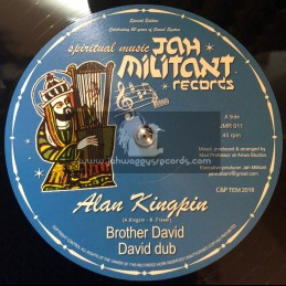 "Jah Militant Records-12""-Brother David / Alan Kingpin + Wise Dub / Mad Professor"