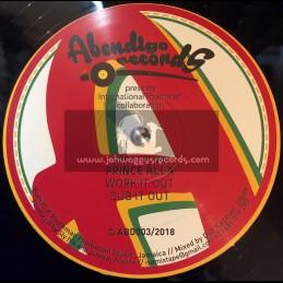 "Abendigo Records-12""-Work It Out / Prince Alla"