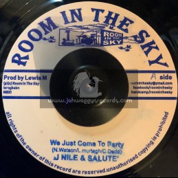 "Room In The Sky-7""-We Just Come To Party / J Nile And Salute + Ikatrommy / Vin Gordon And Skycru"
