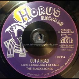 "Horus Records-7""-Out A Road / The Blackstones"