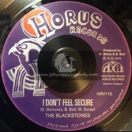 "Horus Records-7""-I Don't Feel Secure / The Blackstones"