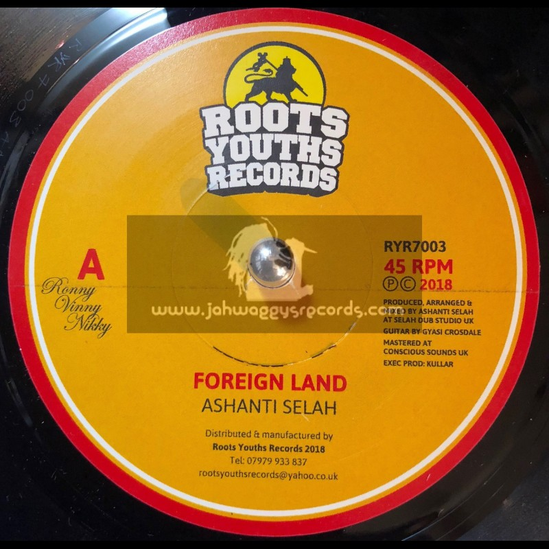 Roots Youths Records-7-Foreign Land / Ashanti Selah