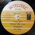 "Intelitec-Jah Fingers-12""-Natty Red / Flag Smith + Operator / Mr Pants"