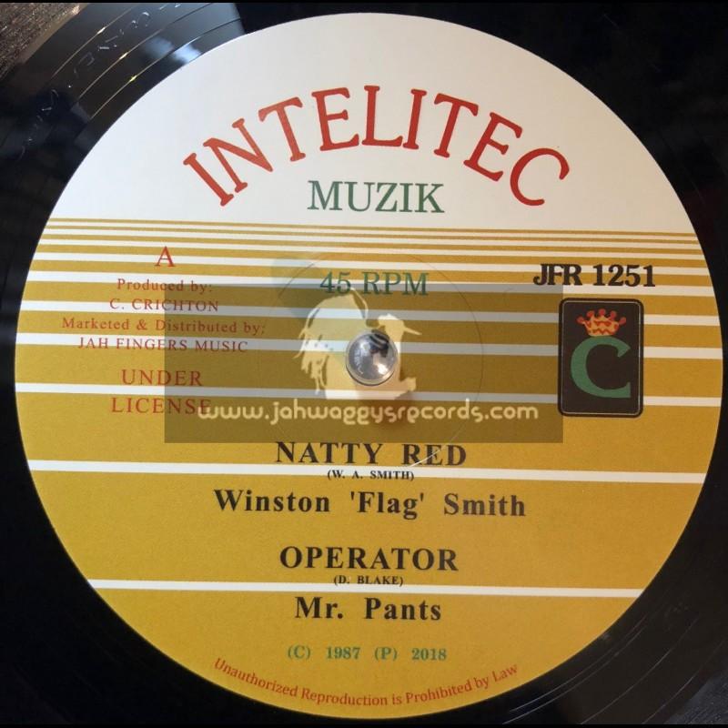 "Intelitec-Jah Fingers-12""-Natty Red / Flag Smith + Operator / Mr Pants"